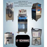 PRO HDM 03 Elektrikli Hava Alma Hidrolik Değiştirme Makinasi